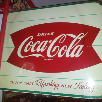Coke Flange & Canada Dry Flange!! - Coca-Cola
