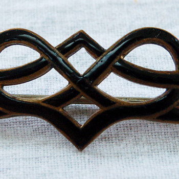My Possibly Art Nouveau (Mourning) Pin