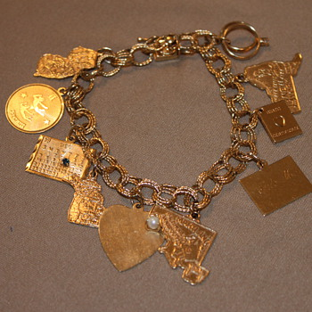 Beautiful 14k Charm Bracelet