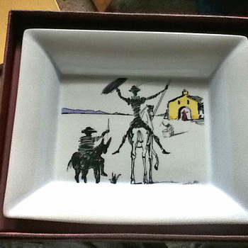 Salvator Dali Centenoio plate by RABAT Store in Spain