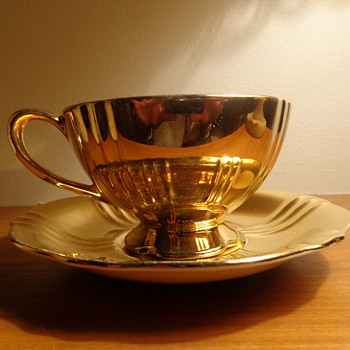 Royal Winton Grimwades Cup and Saucer - China and Dinnerware