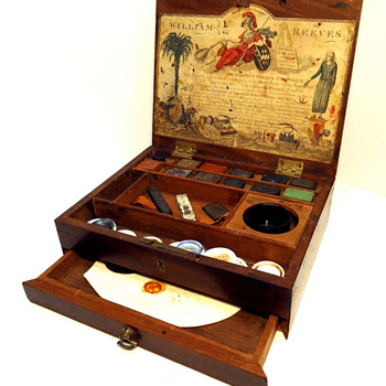 Watercolor boxed set from the late 1700's made by William Reeves
