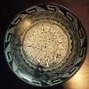 Aztec carved bowl