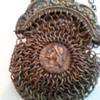 Antique mesh purse