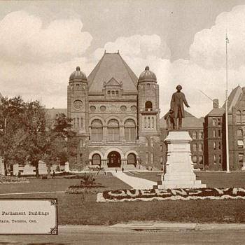 """""""Provincial Parliament Building"""" Ontario - Circa 1917 - Photographs"""