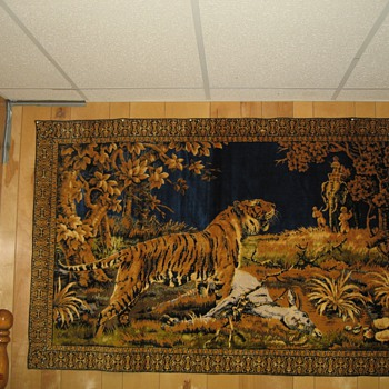 Tiger Rug - Rugs and Textiles