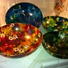 Floral melamine bowls