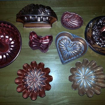 Copper Copperish Copper-tone Molds
