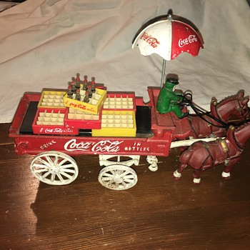 Coca-Cola Horse-drawn carriage (unknown year) - Coca-Cola