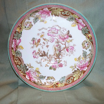 Anglo China England Saucer  - China and Dinnerware