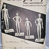 Patterns and photo of manikins 1940's  from Simplicity