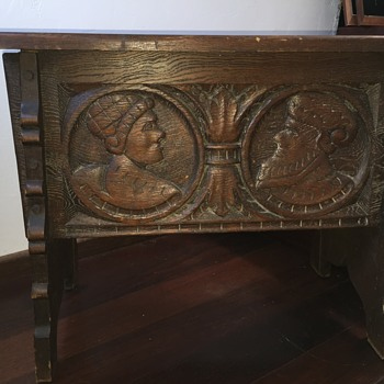 Spanish colonial Angelus Furniture Co