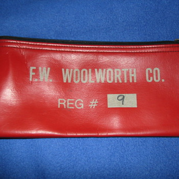 Woolworth Company Money Bag