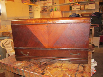 1930s Honderich Furniture Co Cedar Chest Collectors Weekly