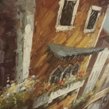 oil painting need help figuring out who the artist is