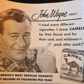 John Wayne Says...