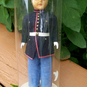 "Military"" Send Me Home"" Marine Doll"