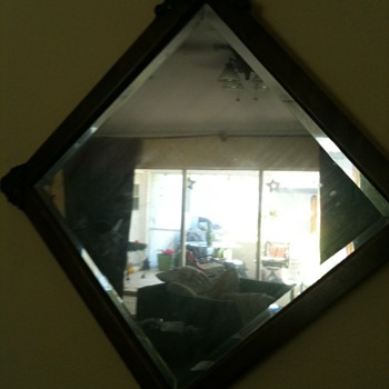 Please Help Antique Mirror Picked Wisconsin Farm Sale