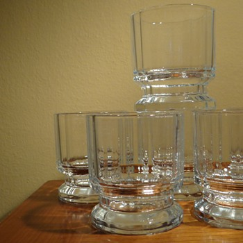 GUNNAR CYREN FOR DANSK DESIGNS  -FRANCE  - Glassware