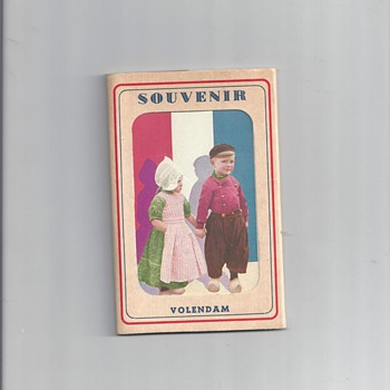 HOLLAND SOUVENIR POSTCARDS