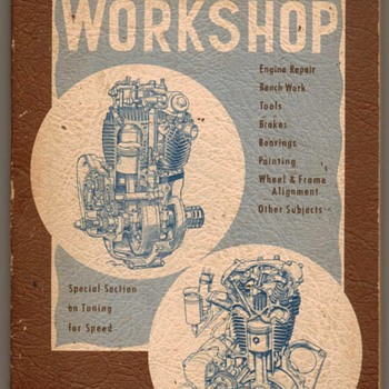"""Motorcyclist's Workshop"" - 1951"