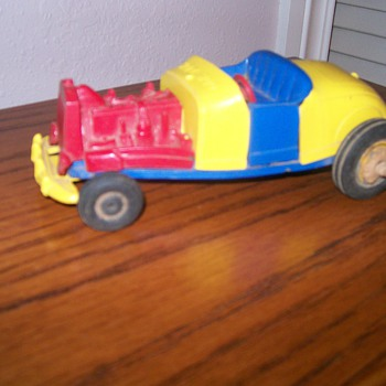 Hot Rod Crash Car