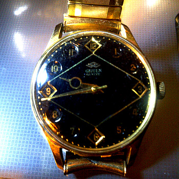 My father's Gruen watch. - Wristwatches