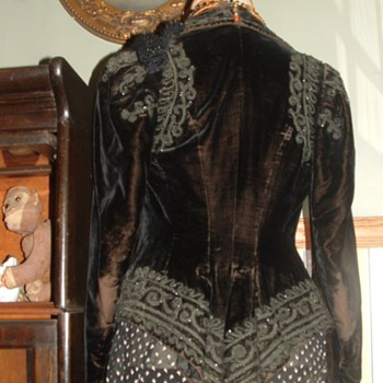 Velvet Bustle beaded jacket