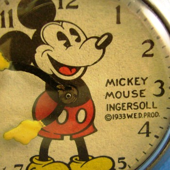 Trivia Time...Who knows the History of This style Mickey - Pocket Watches