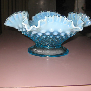 Depression glass dish