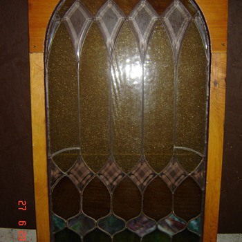 Antique Stained Glass window - Art Glass