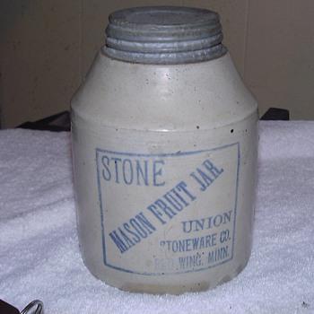 MASON JAR - Bottles