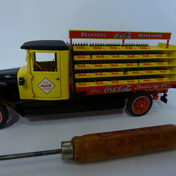 Danbury Mint 1927 Delivery truck ,and 1930's ice pick
