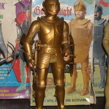 Marx Noble Knight Sir Gordon The Gold Knight - Toys