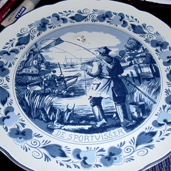 Delft Holland Plate? - China and Dinnerware