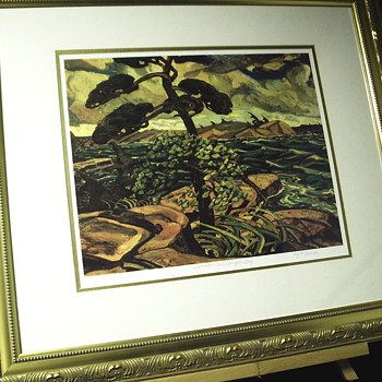 "2 of 2 Group of Seven, Plate Proof""Arthur Lismer--27 June 1885 – 23 March 1969-- ""XX Century - Visual Art"