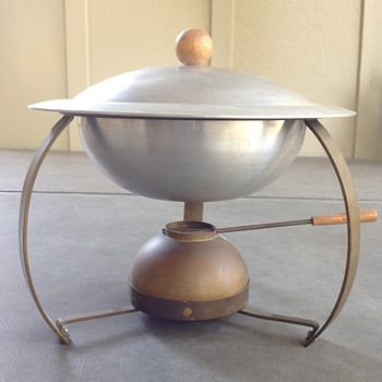 Mid Century Modern Cravell Chafing Dish - Mid-Century Modern