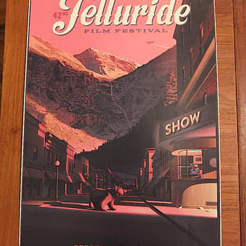 Telluride Film Festival poster, by Laurent Durieux - Posters and Prints