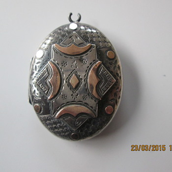 Where did this locket come from? Could be Middle East.