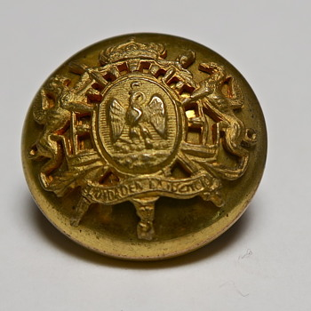 Second Mexican Empire uniform button?