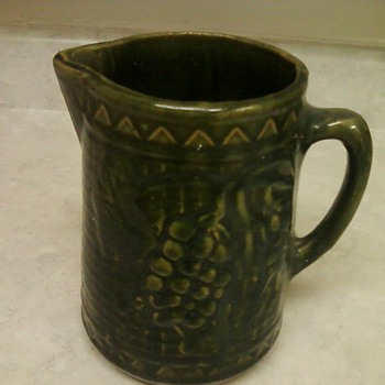 VINTAGE PITCHER - Art Pottery
