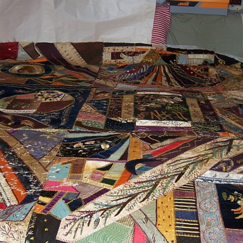Crazy Quilt  - Sewing