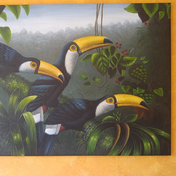Toucan painting - Visual Art