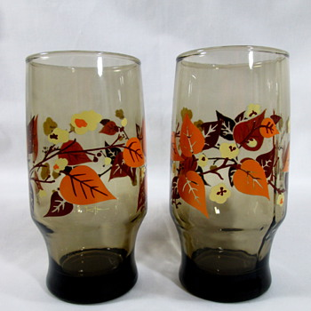 Anchor Hocking Mid Century Tumblers
