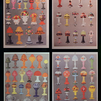 Palda & Rückl Lamps From Truitt - Catalog pages and comparisons. - Art Glass