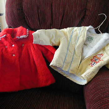 Vintage Baby Coats X 2