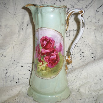 Porcelain Tankard - China and Dinnerware