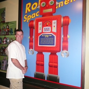 """Tin Toy Stories"" ~ EPCOT 2009 Disney World exhibit"