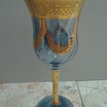 Pretty wine glass