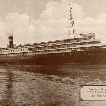"1917 - Steamer ""S.S. Noronic"" Photograph"